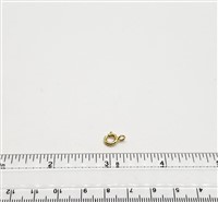 Gold Filled Clasp - Spring 7mm Open ring
