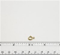 Gold Filled Clasp - Spring 8mm Open ring