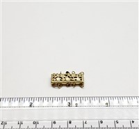 Gold Filled Clasp - Filligree Rectangle 5 Row