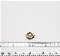 Gold Filled Clasp - Filligree Round Large