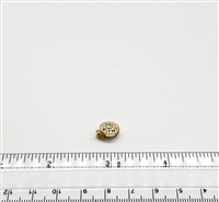 Gold Filled Clasp - Filligree Round Small