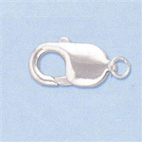 Sterling Silver Lobster - #6 18x9mm w/ring