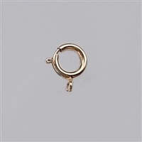 Rose Gold Filled Spring Clasp - 5.5mm Closed ring