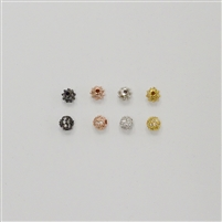 Bead - Round 4mm Clear