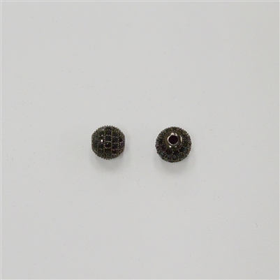 Bead - Round 8mm Black