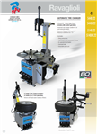 RAV Automatic Tyre Changer with assist arm