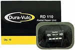 DURA VULC RD 110R Radial Repairs 10pcs 60mm X 80mm