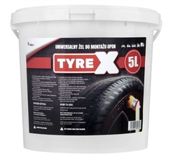 Tyre mounting Gel Paste and Seal