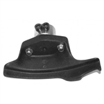 Complete plastic mounting head with metal bracket, Compass AE