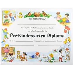 pre k graduation certificate