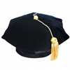 6 Sided Velvet Tam & Bullion Tassel