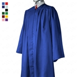 "Deluxe Fully-Fluted Graduation Gowns - Forest - 5'6"" -> 5'8"" (48FF) > 275LBS"