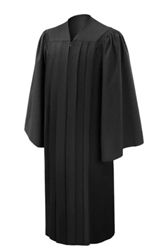 Semi-Fluted Graduation Gowns