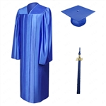 Shiny Polyester Graduation Package