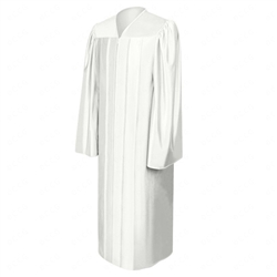 Shiny Polyester Graduation Gowns