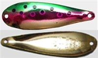 Finish 609<br>SILVER-GREEN/PINK/TROUT
