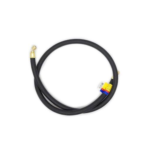 Black Yellow Jacket 15412 Plus II 1//4 Heavy Duty Charging Hose HCS Straight x Straight 12