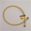 "Yellow Jacket 18136 Plus II 3/8"" B Yellow Hose 3/8"" Str x 3/8"" 45 Deg, 36"""