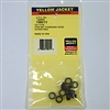 "Yellow Jacket 19011 3/8"" Replacement Gasket (10 pack)"