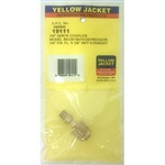 "Yellow Jacket 19111 1/4"" Female Qc Str. X 1/8"" Npt Male"