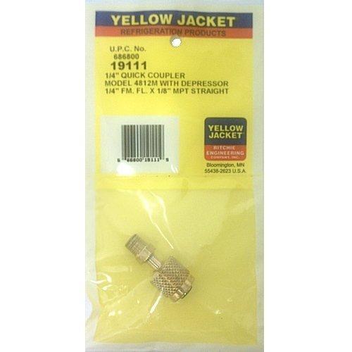 YELLOW JACKET RITCHIE Quick Coupler 1//4 FM x 1//2 ACME