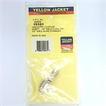 "Yellow Jacket 19161 Quick Coupler 1/4"" F Fl x 1/2"" Acme Male"