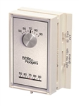 White Rodgers 1E56N-444 Single Stage Mechanical Thermostat, Vertical, Mercury Free (1H/1C)