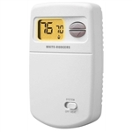 White Rodgers 1E78-140 Non-Programmable Thermostat, 24 Volt or Millivolt system, Vertical