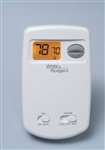 White Rodgers 1E78-144 Non-Programmable Thermostat, 24 Volt or Millivolt system, Vertical