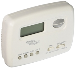 White Rodgers 1F72-151 5+2 Day Programmable Thermostat, 24 Volts, Horizontal
