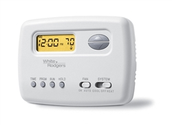 White Rodgers 1F79-111 Non-Programmable Thermostat, Backlit Display, 24 Volts, Horizontal