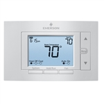 "White Rodgers 1F85U-22PR 5"" Display Universal 7-Day Programmable Thermostat, 2 Heat/2 Cool"