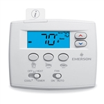 White Rodgers 1F89EZ-0251 Non-Programmable Thermostat, 2 Heat/ 1 Cool