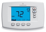 White Rodgers 1F95EZ-0671 Programmable, 4H/2C, Easy Reader Blue Digital Thermostat