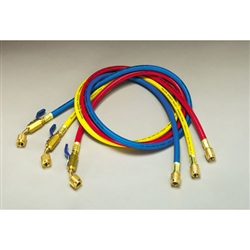 Yellow Jacket 21486 PLUS II 1/4 Inch Refrigerant Charging Hoses