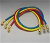 "Yellow Jacket 21981 Multi-Length 3 Pak (Two 36"", One 72""), Plus II 1/4"" Charging Hose"