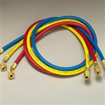 "Yellow Jacket 21986 PLUS II Hose 72"" RYB 3-Pack"