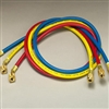 "Yellow Jacket 21988 PLUS II Hose 96"" RYB 3-Pack"