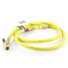 "Yellow Jacket 29005 R410A-Ball Valve 60"" Jp Yellow Hose"