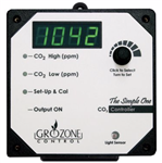 Grozone SCO2 Single Output 0-5000 PPM CO2 Controller