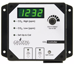 Grozone CO2R Dual Output 0-5000 PPM CO2 Controller