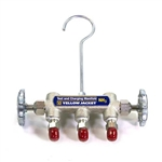 Yellow Jacket 40190 Manifold Body w/ Valves