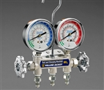 Yellow Jacket 40192 Ammonia Manifold & Gauges