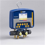 "Yellow Jacket 40813 Refrigeration System Analyzer w/ Titan 4-Valve Manifold & 1/4"" Ryb Charging Hose"