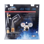 Air Gas 4400083 Inferno Air-fuel Kit with Quick Connect Acetylene Hose Connections. HX-3B