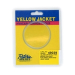 Yellow Jacket 49039 Glass Crystal for Brass Gauge