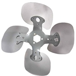 4 Blade Heavy Duty Condenser Type Fan Propeller - 18 inch CW with 33 Degree Pitch