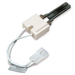 "Emerson/White Rodgers 767A-357 Hot Surface Ignitor with 5-1/4"" leads"