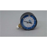 "Yellow Jacket 78066 2 1/2"" Diaphragm Gauge, 0-35"" W.C. Range, 1/4"" Npt Male"