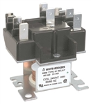 White Rodgers 90-341, 2 Pole, Type 91, 115/120 VAC Coil, DPDT, 2 Sets Of Power Rated Contacts. 420 Ohms DC Resistance, 66 mA